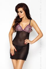 WHITNEY CHEMISE black S/M - Passion